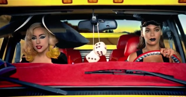 Lady Gaga featuring Beyonce  - 'Telephone' music video (2009).