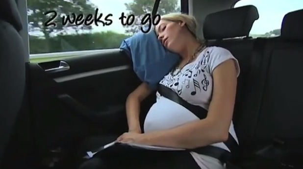 Cherry Healey has a baby - documentary