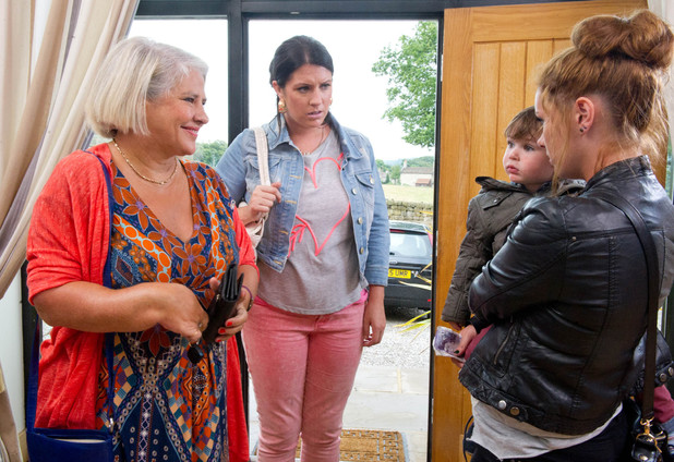 Emmerdale, ITV, Kerry finds out about Amy and Kyle, Tue 17 Sep
