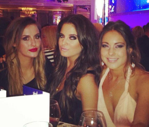 Lucy Watson, Binky Felstead and Louise Thompson were the leading ladies at the TV Choice Awards last night (9 September).