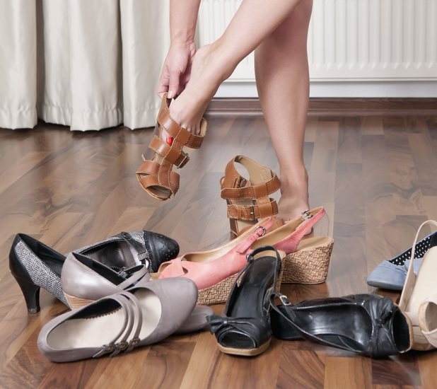 Women spend £34,000 on shoes in their lifetime
