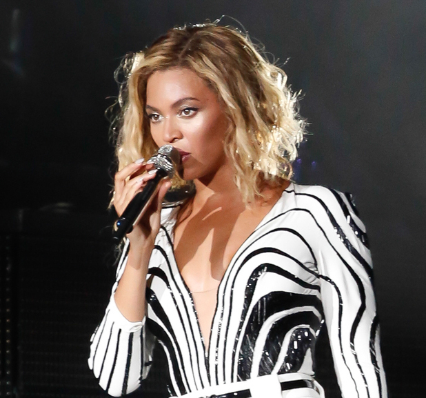 Beyonce Knowles performs at the 2013 Made in America festival in Philadelphia, Pennsylvania, 31 August 2013
