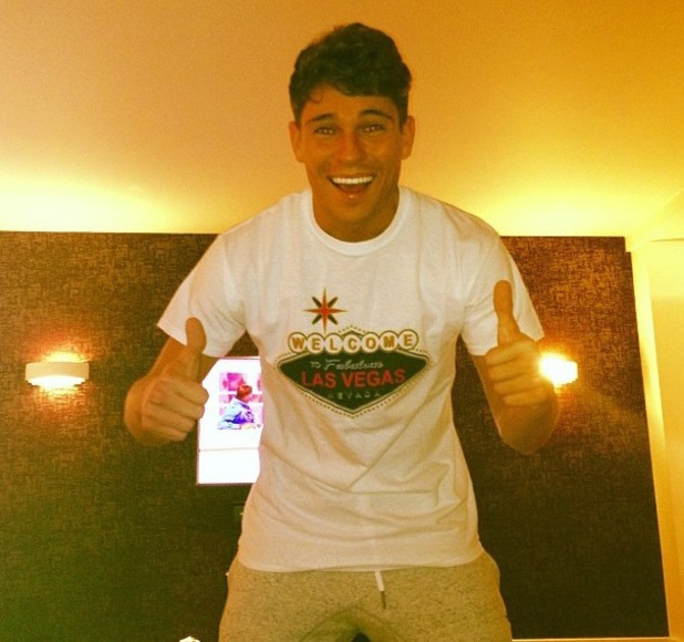 Joey Essex gets excited for TOWIE trip to Las Vegas - 9 September 2013