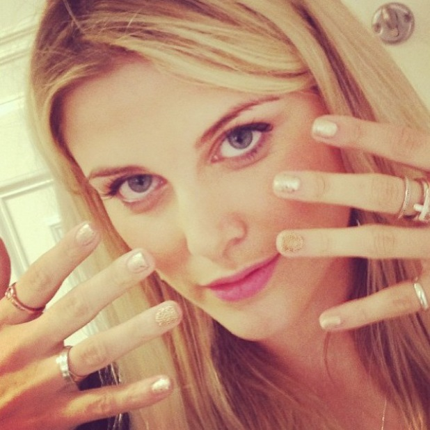 Made In Chelsea's Ashley James has Ciate Caviar Manicure - Instagram 10 September