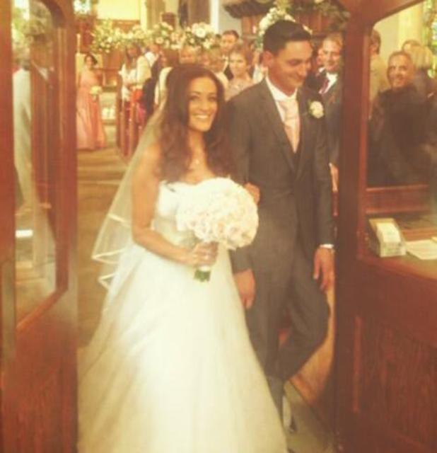 Natalie Panayi from The Apprentice marries her boyfriend Oliver - September 2013