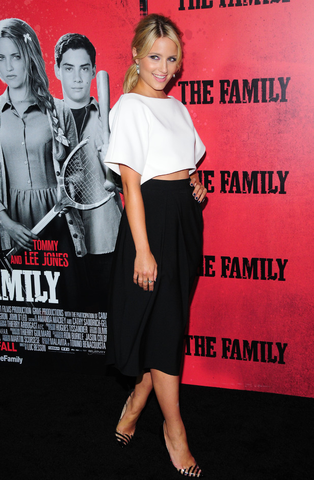Dianna Agron, New York premiere of 'The Family', 10 September 2013