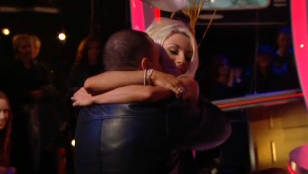 Courtney Stodden is reunited with Doug Hutchison after her Celebrity Big Brother eviction, 11 September 2013