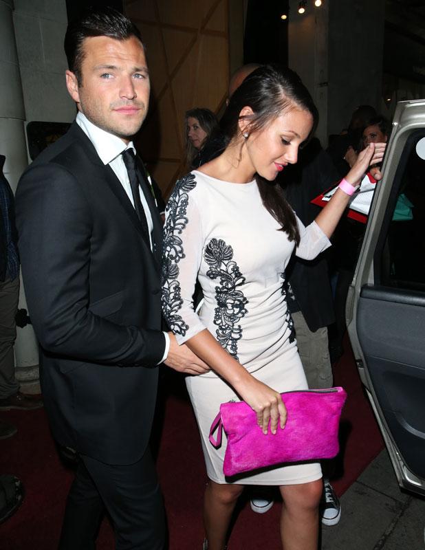Mark Wright and Michelle Keegan, 2013 Lipsy VIP Fashion Awards held at DSTRKT, 2013