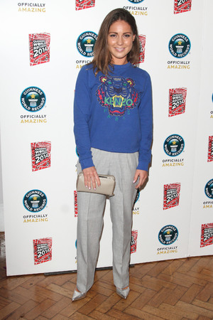 Guinness Book of World Records 2014 Book Launch Party at One Marylebone London - Louise Thompson - 17.9.2013