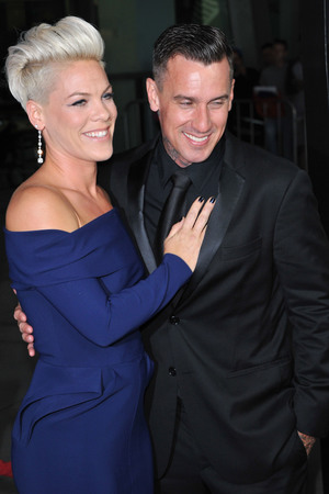 Los Angeles premiere of 'Thanks For Sharing' at ArcLight Hollywood - Arrivals Alecia Moore, Pink, Carey Hart Credit :Visual/WENN.com Date Created : 09/16/2013 Location : Hollywood, United States