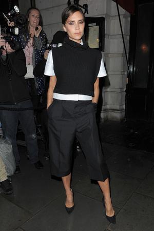 London Fashion Week SS14 - Vogue dinner held at Balthazar - 15.9.13 Victoria Beckham