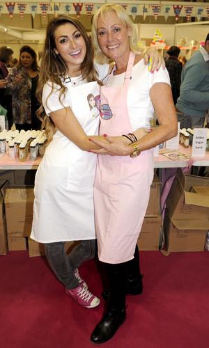 Luisa Zissman at Cake and Bake Show Day 3 at Earls Court - 15 September 2013