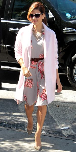 Eva Mendes out and about in New York, America - 19 Sep 2013