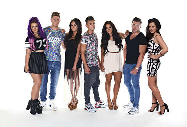 Geordie Shore, new group shot with Marnie, MTV, Tue 17 Sep
