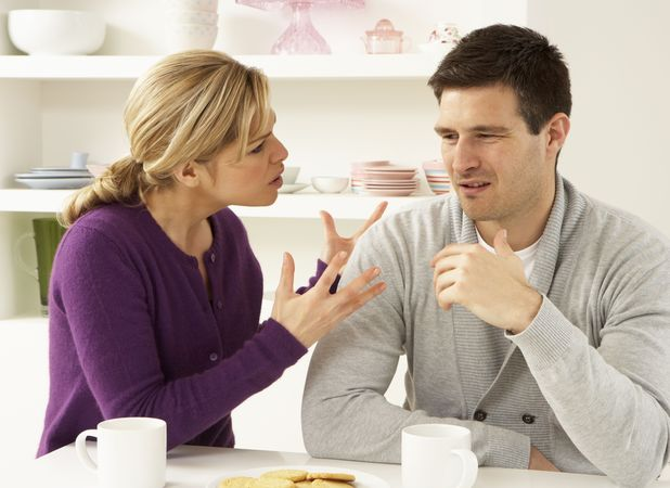 Julie has been given an ASBO for nagging her husband