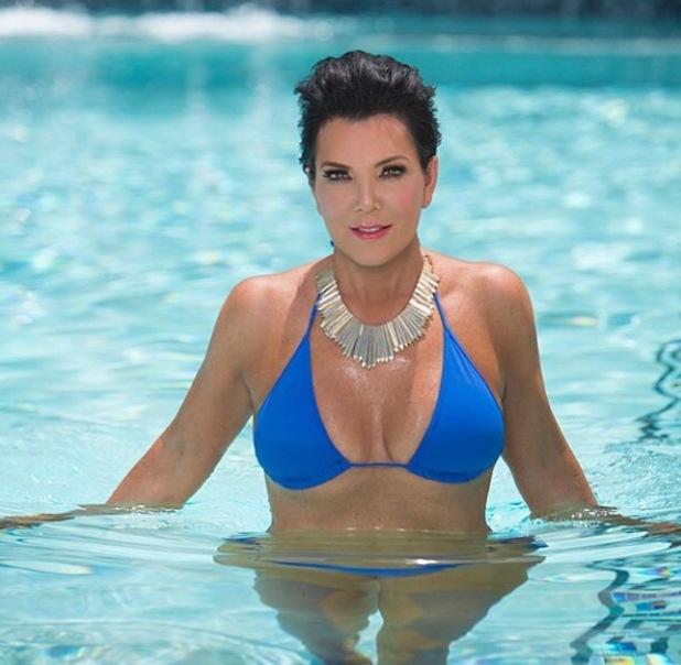 Kris Jenner Channels Her Kardashian Daughters In Racy