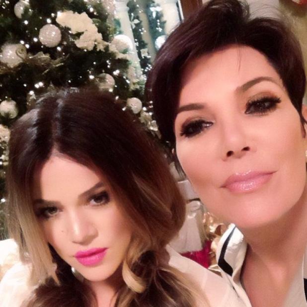Khloe Kardashian and Kris Jenner - Instagram
