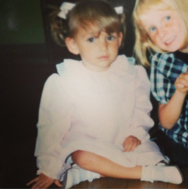 Michelle Keegan shares cute throwback picture - 19 September 2013