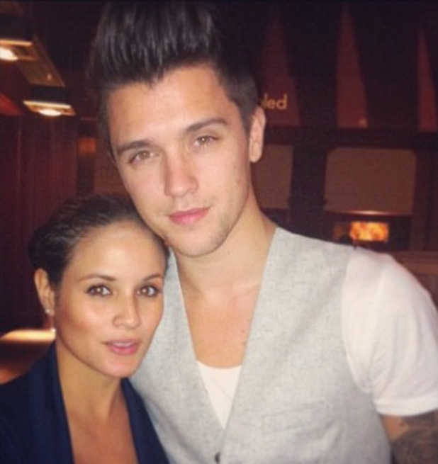Union J's JJ Hamblett and girlfriend Caterina Lopez - Sept 2013