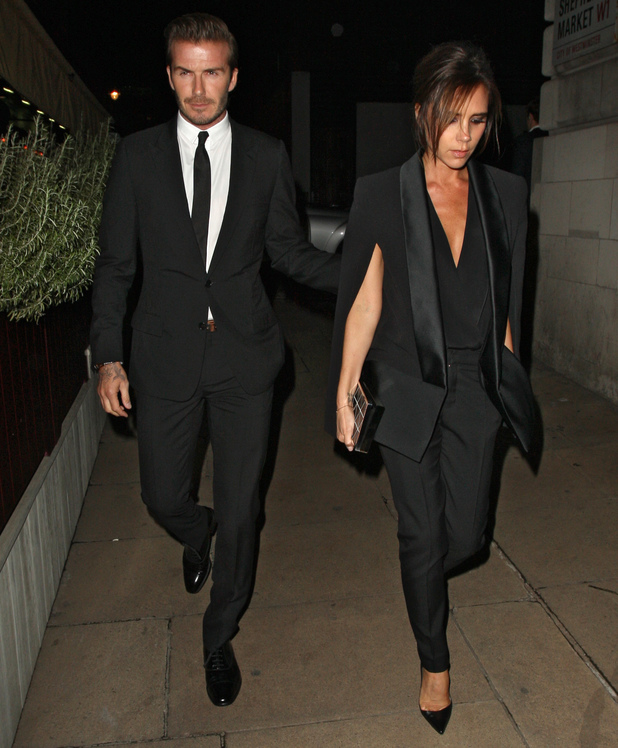 David and Victoria Beckham, An Evening Celebrating The Global Fund held at Apsley House - Arrivals, 16 September 2013