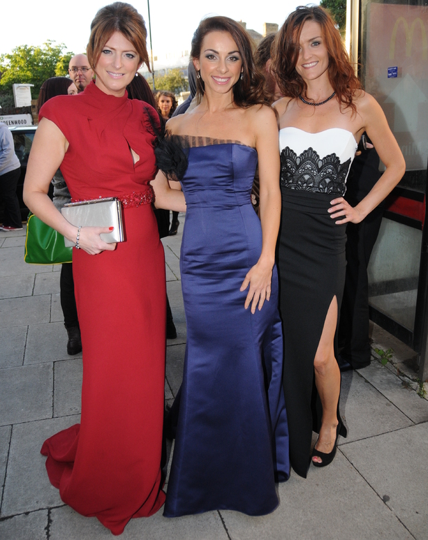 B*Witched attend The National Reality TV awards (NRTA) 2013 held at the HMV Forum - 16 September 2013