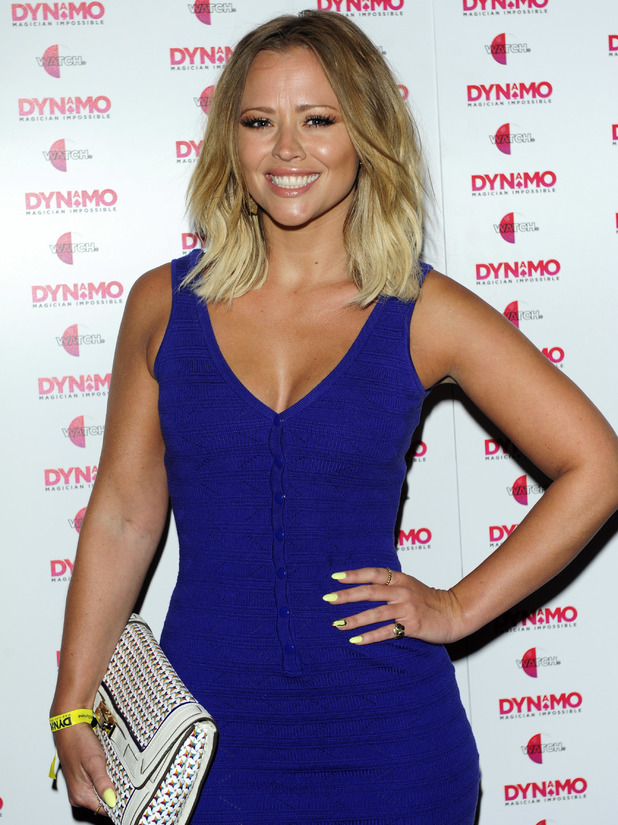 Kimberley Walsh, Launch party of Dynamo: Magician Impossible series 3 held at 'Pulse' Blackfriars, 9 July 2013