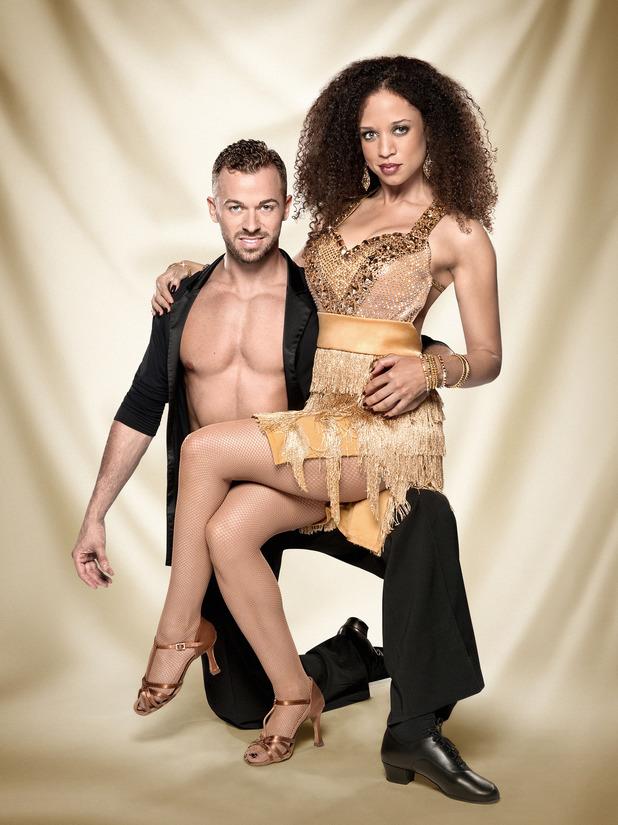 Strictly Come Dancing official couples photos: Artem Chigvinstev, Natalie Gumede