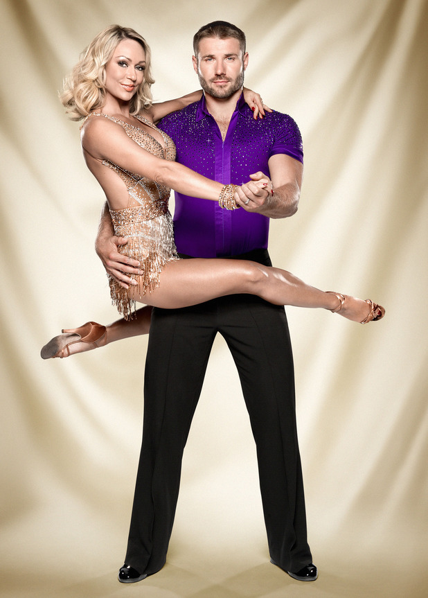 Strictly Come Dancing official couples photos: Kristina Rihanoff, Ben Cohen