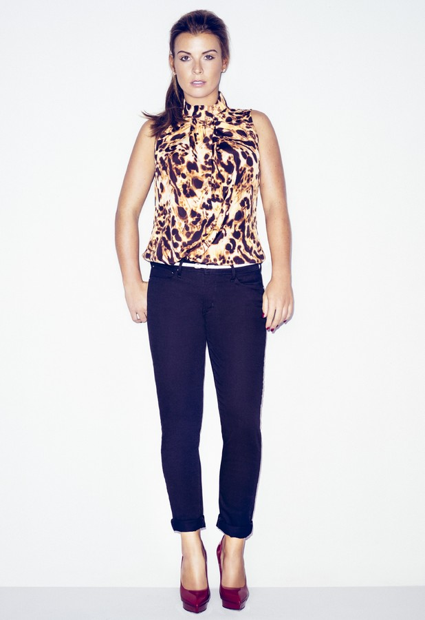 Coleen Rooney models new A/W '13 collection for Littlewoods