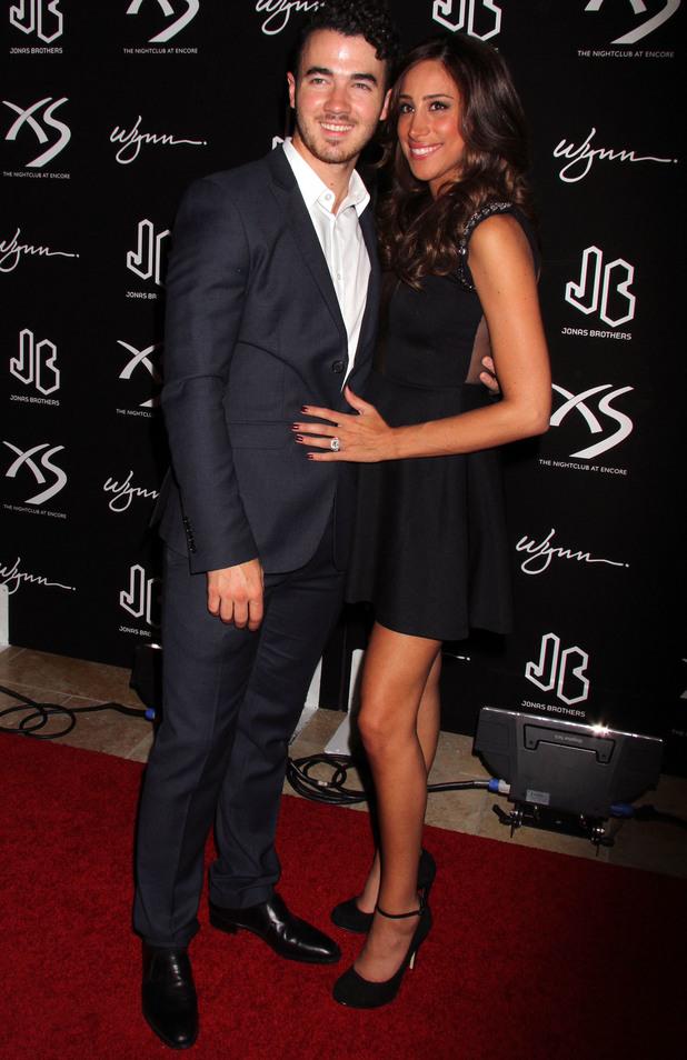 Danielle and Kevin Jonas: NICK JONAS Celebrates His 21st Birthday At XS Nightclub Inside Wynn Las Vegas In Las Vegas, NV on 15 September 2013
