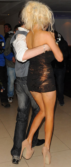 Courtney Stodden and Lauren Harries on night out, 19 September 2013