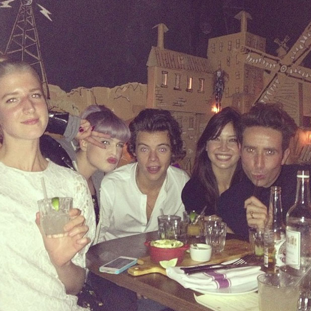 Pixie Geldolf celebrated her 23rd birthday with a party at China Tang within The Dorchester Hotel. She was seen with a male companion and Harry Styles, 17 September 2013
