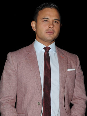 Celebrities arrive for The Genesis Ball 2013 at The Concorde Hanger Manchester Airport Visitors Park, Manchester Airport, Manchester - 21 September 2013 Ryan Thomas