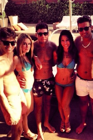 TOWIE's Joey Essex, James 'Arg' Argent, Tom Pearce in Las Vegas