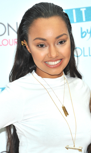 Leigh-Anne Pinnock joins Little Mix at May Fair hotel to promote make-up line - 24 September
