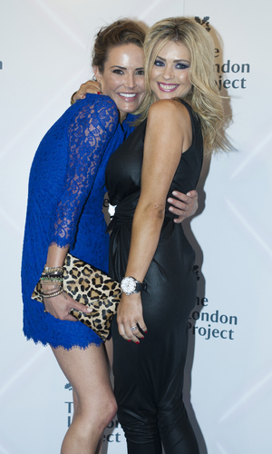 Sophie Anderton and Nicola McLean - Big Brother Gala Party, 26 Sept 2013 (photo - Jo Castle).jpg
