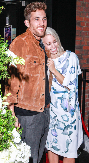 Kimberly Wyatt arriving at Vanilla with fiance Max Rogers PersonInImage:	Kimberly Wyatt Credit : WENN.com Date Created : 09/25/2013 Location : London, United Kingdom