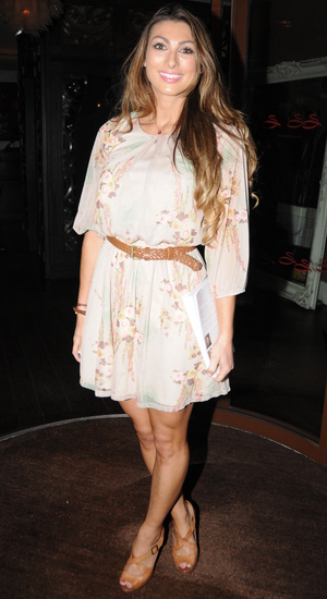 Luisa Zissman, Tim Drummond and Phil Hawksworth - Book Launch Party at the Sanctum Soho Hotel. 24 september 2013