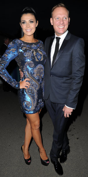 Celebrities arrive for The Genesis Ball 2013 at The Concorde Hanger Manchester Airport Visitors Park, Manchester Airport, Manchester - 21 September 2013 Antony Cotton