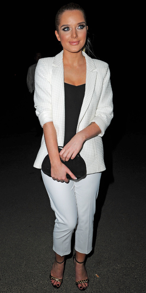 Celebrities arrive for The Genesis Ball 2013 at The Concorde Hanger Manchester Airport Visitors Park, Manchester Airport, Manchester - 21 September 2013 Helen Flanagan
