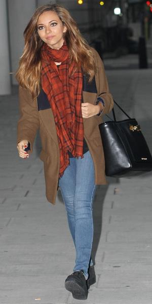 Jade Thirlwall arriving at Radio 1 studios, 23 September