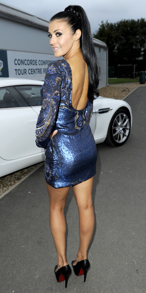 Kym Marsh - The Genesis Appeal Ball at the Concorde Hanger, Manchester Airport, Manchester, Britain - 21 Sep 2013