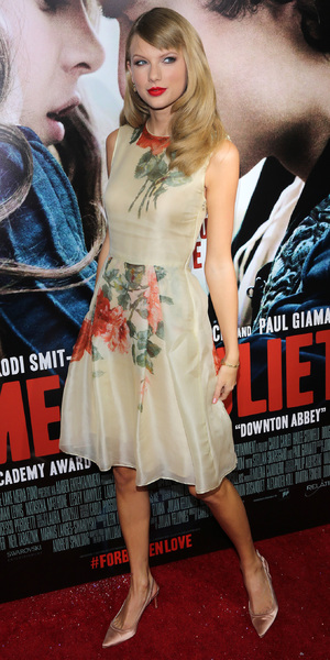 Taylor Swift at Romeo and Juliet premiere in Los Angeles, 24 September