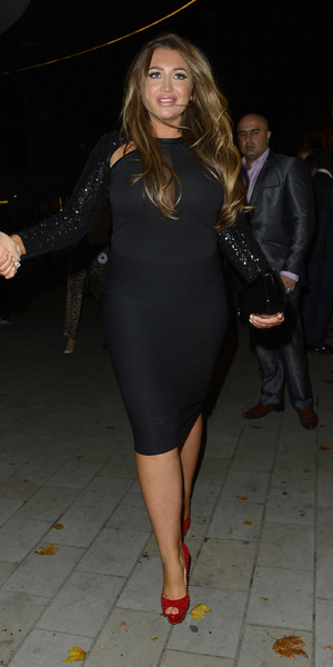 Lauren Goodger attends Cara Kilbey's birthday party at STK, Sept 28 2013