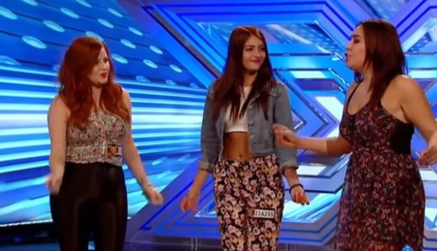 The Daisy Chains - Hannah Sheares - performing on The X Factor (21 September)