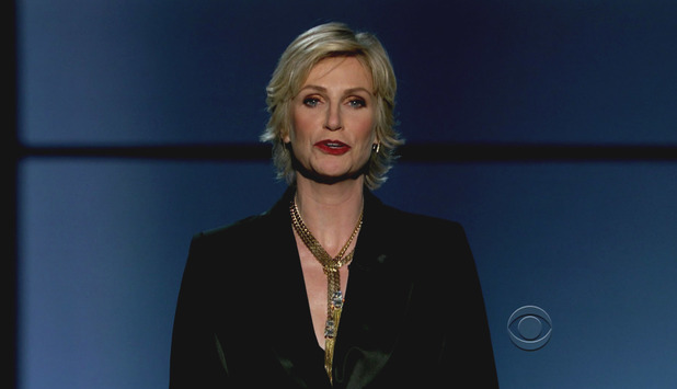 The 65th Primetime Emmy Awards held at the Nokia Theatre. As seen on CBS HD. Jane Lynch Credit :Supplied by WENN.com