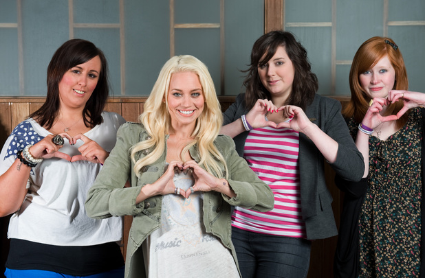 Kimberly Wyatt appears on TLC's Superfans and Superstars - Sept 2013