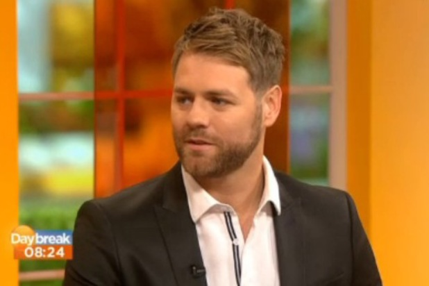 Brian McFadden appears on Daybreak - 27 September 2013