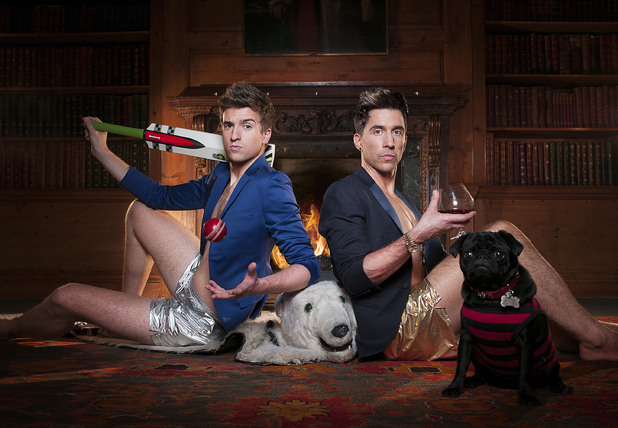 Staying in with Greg and Russell, BBC3, Wed 25 Sep