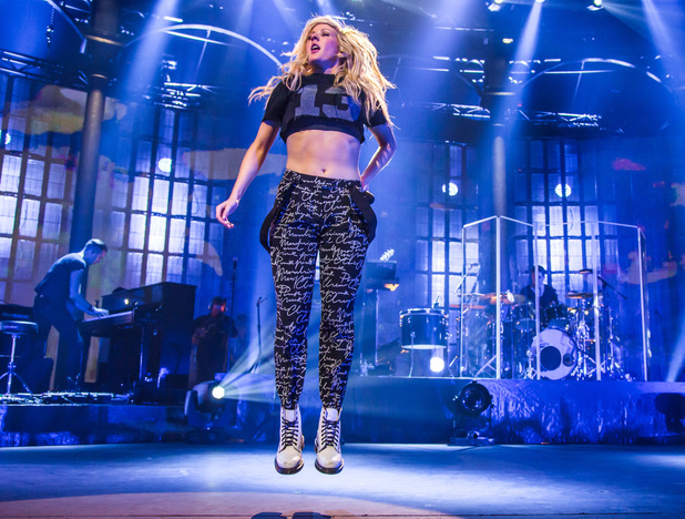 Ellie Goulding performs at the iTunes festival on Sunday 22 September 2013